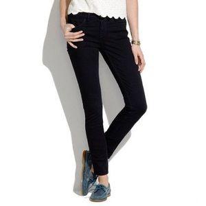 Madewell Black Skinny Skinny Ankle Jeans
